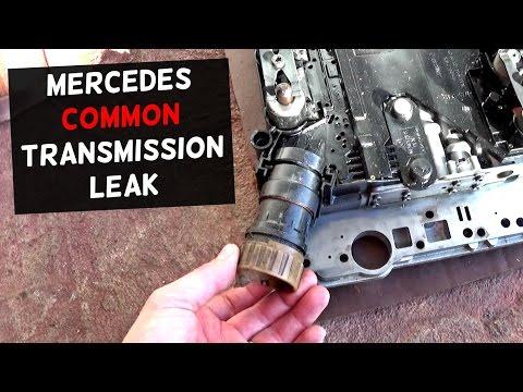 HOW TO FIX MERCEDES TRANSMISSION LEAK  Common Leak FIX