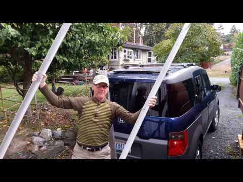 How to Make a Heavy Duty Lightweight Vehicle Car Top Cargo Carrier Rack