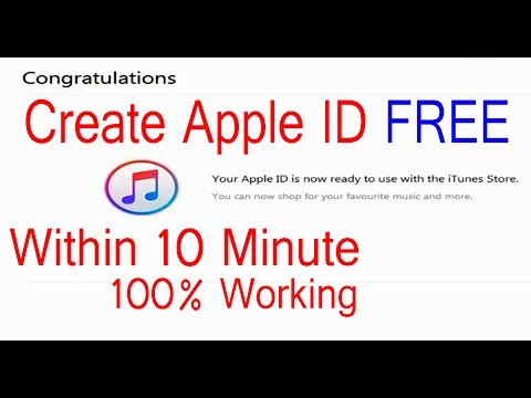 3 Step to Create Apple ID Within 10 Minute Without Credit Card || Apple ID 2017