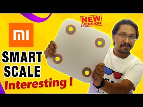 Xiaomi Mi Smart Body Composition Scale - Weight Scale | Interesting