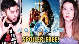 AQUAMAN   Jason Momoa   Amber Heard   Spoiler-Free Review!