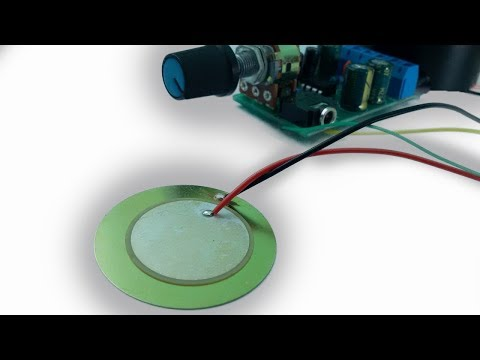 Using piezo disc as a microphone