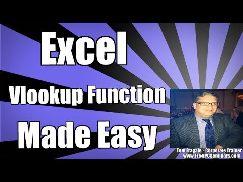 How To Compare 2 Sheets Using The Excel Vlookup Function Formula 2007, 2010 , 2013, 2016 Tutorial