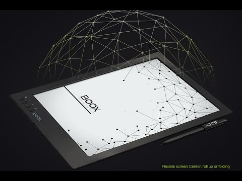 Onyx Boox Max 13.3'' E Ink Android e-reader on Freescale iMX6, Boox N96 9.7'' E Ink e-reader
