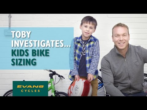 How to size a kids' bike with Sir Chris Hoy... Toby Investigates