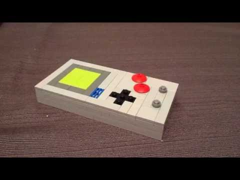 How to Build a LEGO Nintendo Game Boy