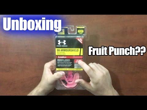 UA FLAVOUR BLAST Mouthguard | Unboxing