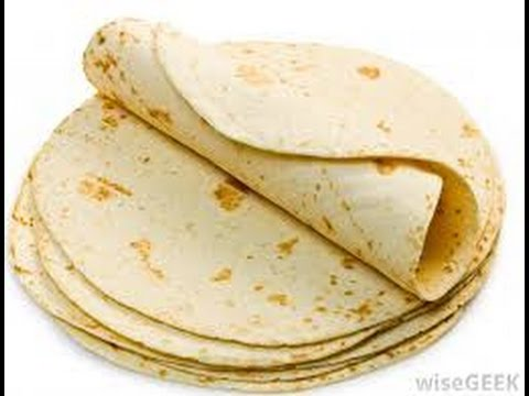 How To Make Homemade Flour Tortillas (easy recipe ) - طريقة تحضير خبز التورتيلا