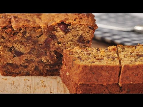 Date Walnut Bread Recipe Demonstration - Joyofbaking.com