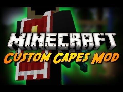 Minecraft Mod Reviews : Cape Mod (1.6.2)