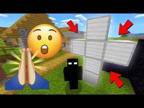 This Minecraft village needs protection.. (Boogeyman's Village)