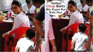 Kareena Kapoor Gets ANGRY On Baby Taimur Ali Khan For Doing MASTI On The Sets Of Good News