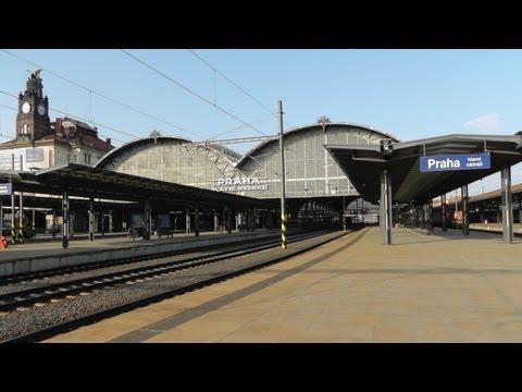 Prague main train station ( Praha hlavní nádraží ) 18-22 March 2012