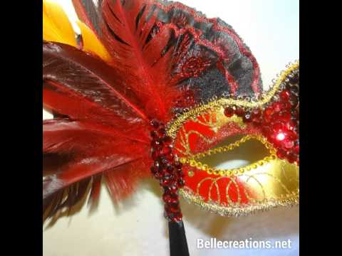 Masquerade Ball Mask Centerpieces