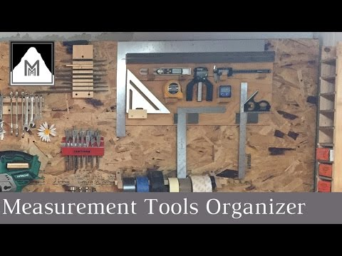 How to Build a Measurement Tool Organizer