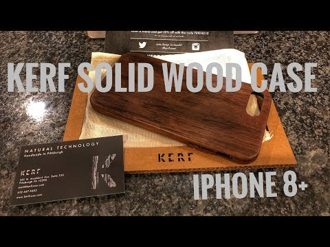 KERF Solid Wood Case - iPhone 8+ - Full Review