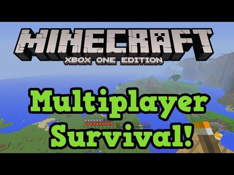 Minecraft Xbox One Survival Multiplayer LIVE Gameplay