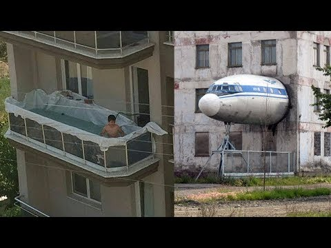 Strange & Funny Balconies Seen Only In Russia |