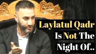 Most Important Fact About Laylatul Qadr You Never Knew  - Shocking - Sayed Ammar Nakshawani