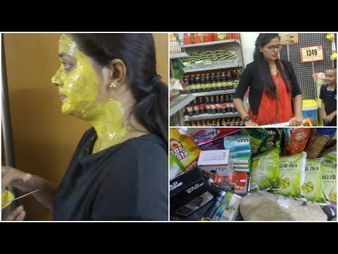Sunday vlog || Indian monthly Grocery haul || Big Bazar haul 2018 || BUDGET GROCERY HAUL.