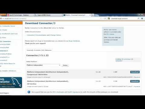 JDBC( Java Database Connectivity) - Part1
