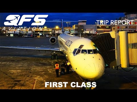 TRIP REPORT   Delta Airlines - MD 88 - Atlanta (ATL) to Tampa (TPA)   First Class