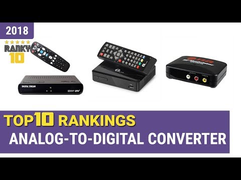 Best Analog-to-Digital Converter Top 10 Rankings, Review 2018 & Buying Guide