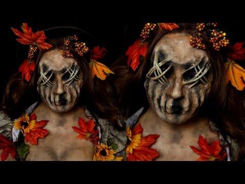Scarecrow Halloween Costume Makeup Tutorial