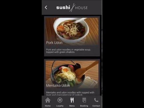 Restaurant ordering menu app