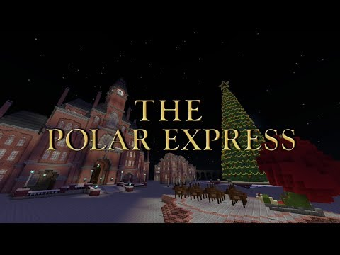 The North Pole From The Polar Express (Minecraft Xbox)