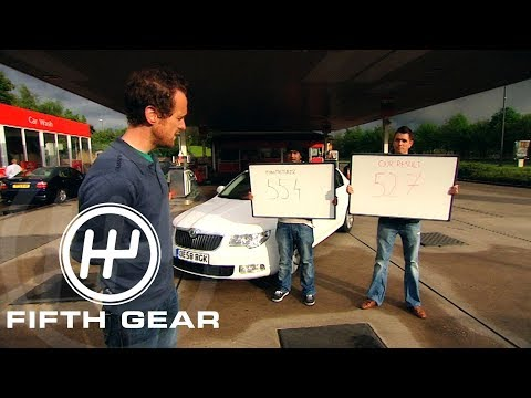 Fifth Gear: Fuel Economy Test (Manufactures Fuel Guarantee) #TBT