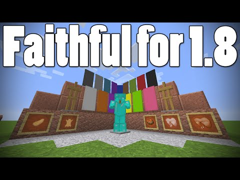 [DL Link] Minecraft 1.8.3: Faithful (32x32 Resource Pack Review)