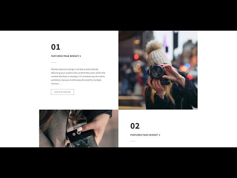 Checkerboard Style Featured Content Widgets in Genesis