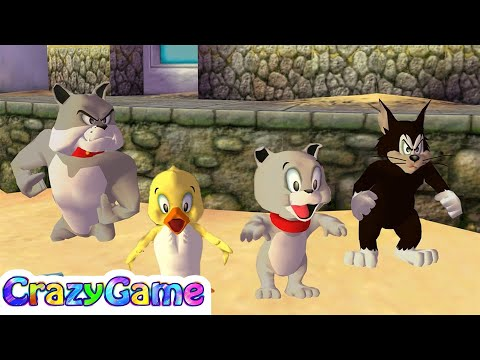 Tom and Jerry in War of the Whiskers - Team Duckling vs Team Spike Gameplay | CRAZYGAMINGHUB