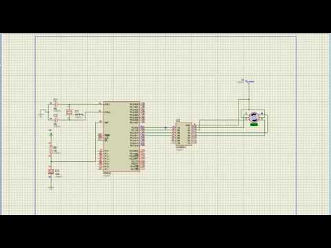 controlling Stepper Motor using ULN2003 and 8051 wave drive