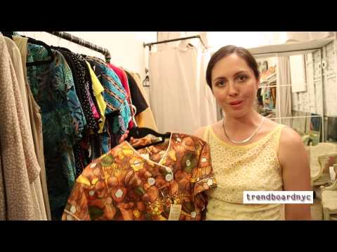 Vintage Clothing Store Opening: Collections in Bushwick - NYC
