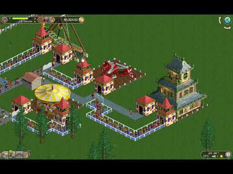 RollerCoaster Tycoon Classic (PC/Mac) angezockt