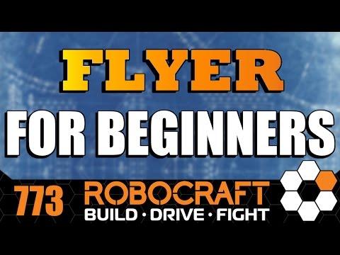 Robocraft BUILD Beginner Aircraft/Flyer