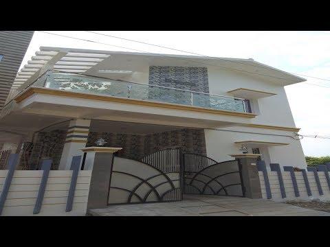 Individual Modern Duplex house for Sale in Veppampattu, Chennai with Modular Kitchen