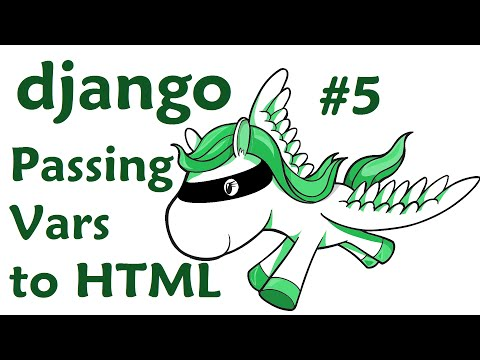 Passing variables from python to html - Django Web Development with Python 5