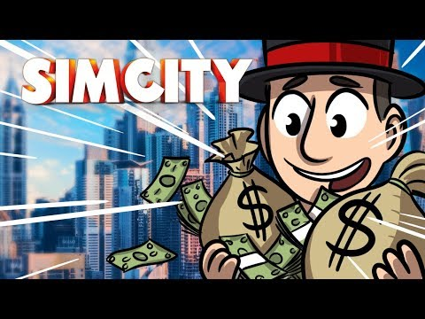 Getting RIch! - Sim City Ep.6 - SimCity Lets Play
