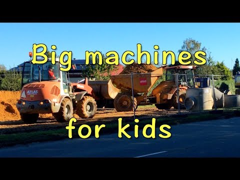 Big machines for kids