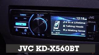 JVC KW-NX7000 Navigation Receiver | Crutchfield Video