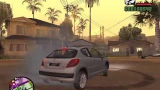 Peugeot 206 GTA San Andreas - Video By Victorgta3D