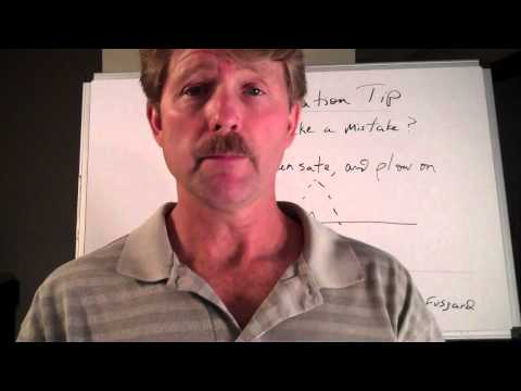 Presentation, Public Speaking Tip: How to handle a minor problem