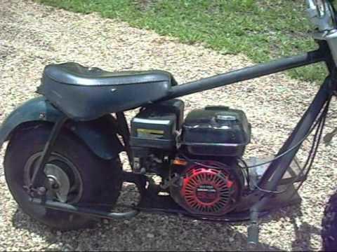 Baja Warrior Minibike Rebuilt