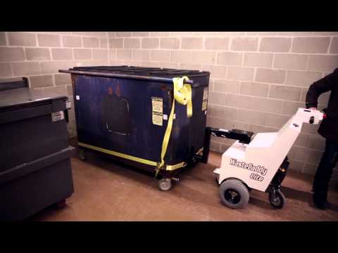 WasteCaddyLite Dumpster Cart Mover