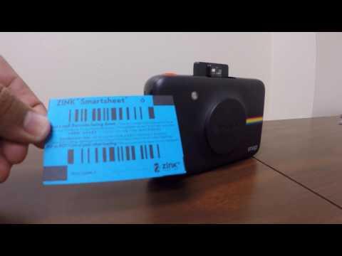 Polaroid Snap - Loading and Sample shot