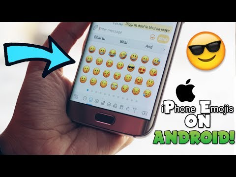 How to Get iPhone Emojis on your ANDROID Phone! [iOS 10] [NO ROOT]