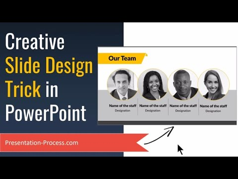 Creative PowerPoint Slide Design Trick (For Photos)